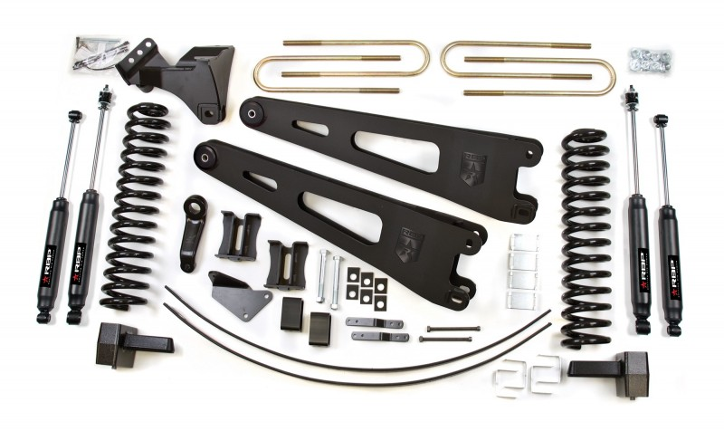 RBP RBP Suspension Lift Kit System: 2005-2007 F250/F350 4WD 6\