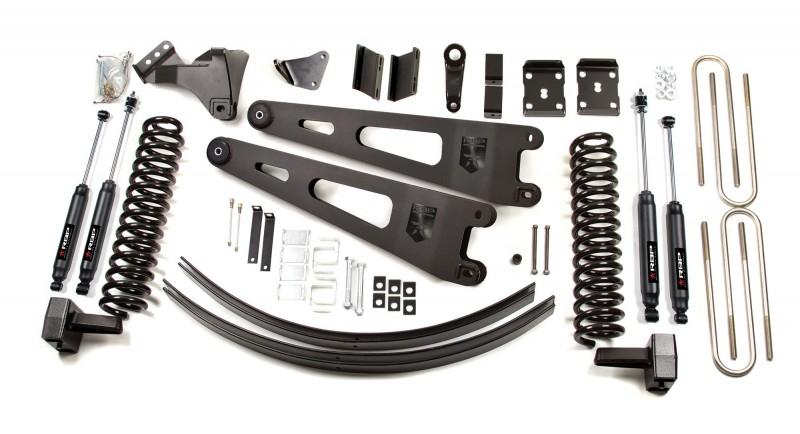 RBP RBP Suspension Lift Kit System: 2008-2010 F250/F350 4WD 6\