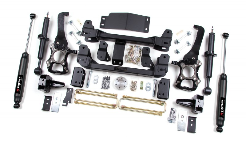 RBP Suspension Lift Kit System: 2009-2013 Ford F-150 4WD 6
