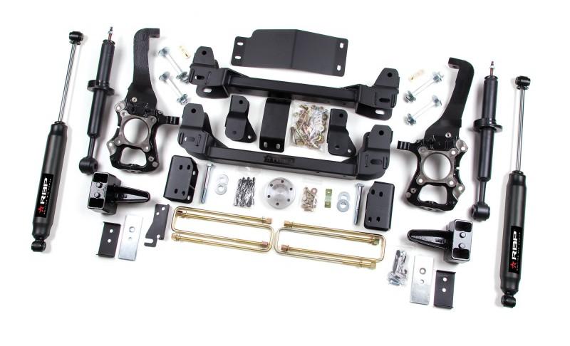 RBP RBP Suspension Lift Kit System: 2009-2013 Ford F-150 4WD 6\