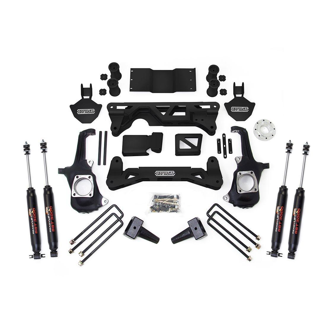 """ReadyLift 5-6"""" Lift Kit - GM Silverado / Sierra 2500HD/3500HD W/ SST3000 Shocks 2011-2018"""