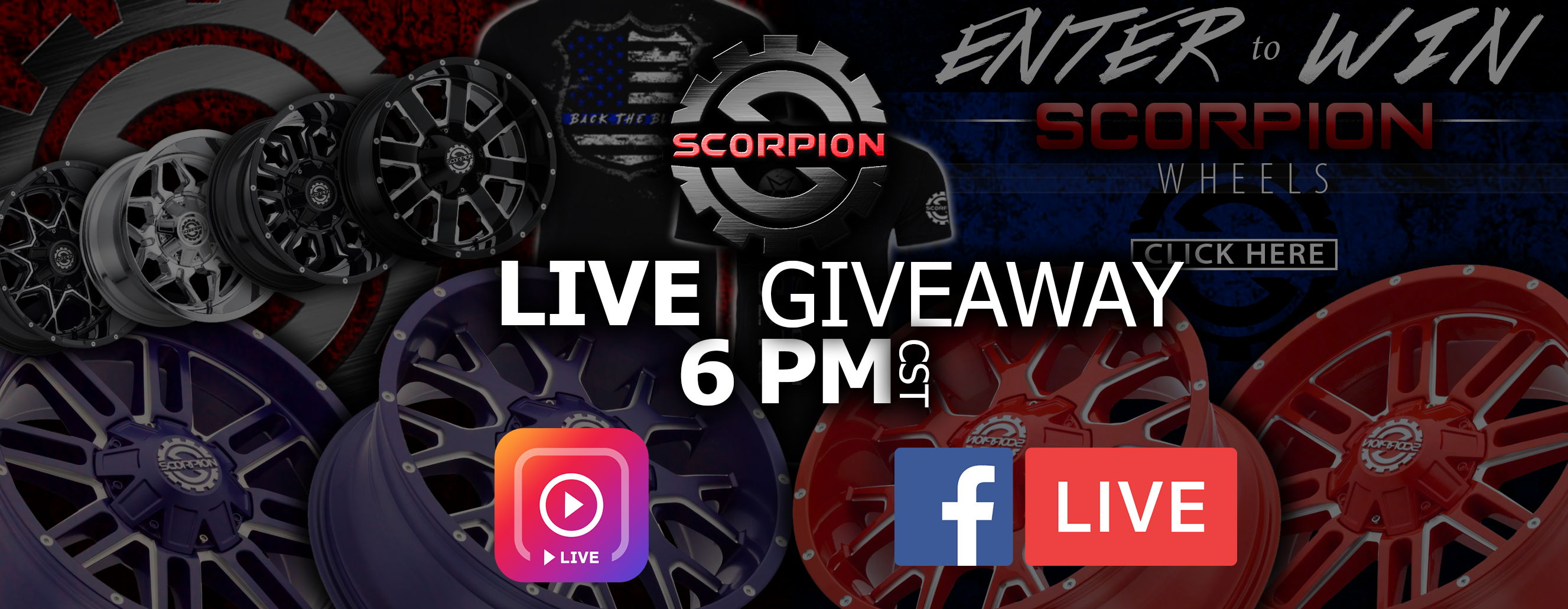 Scorpion Giveaway