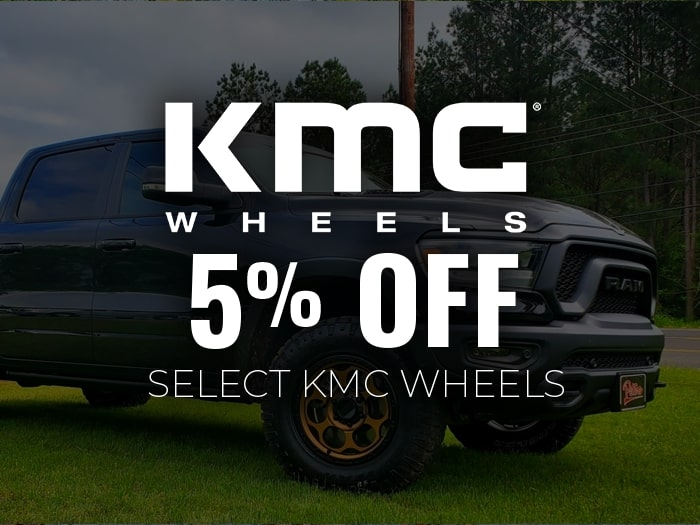 5% Off KMC Wheels