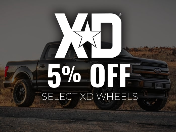 5% Off XD Wheels