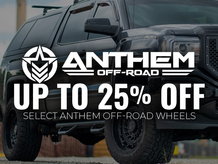 Up to 25% Off Select Anthem Wheels