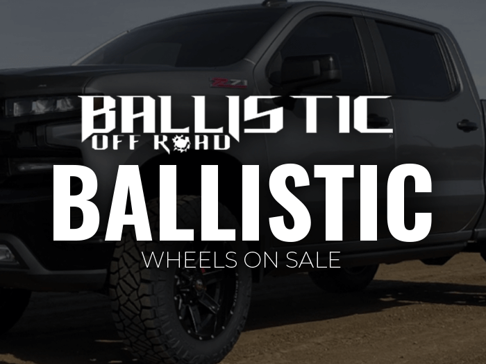 Select Ballistic wheels on sale