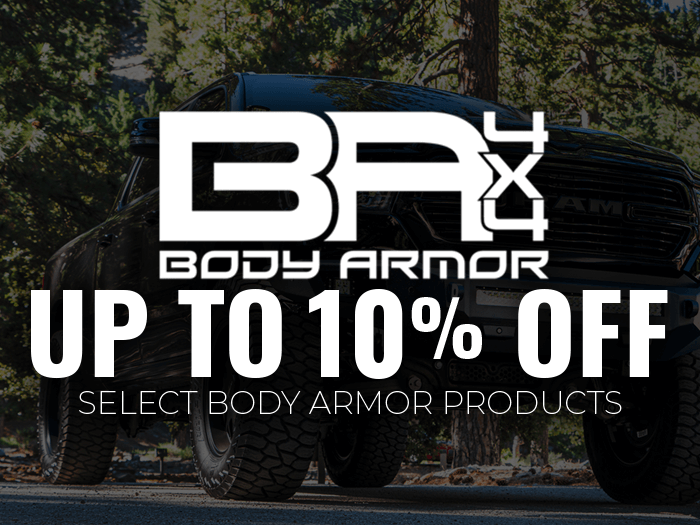 Select Body Armor are 10% OFF