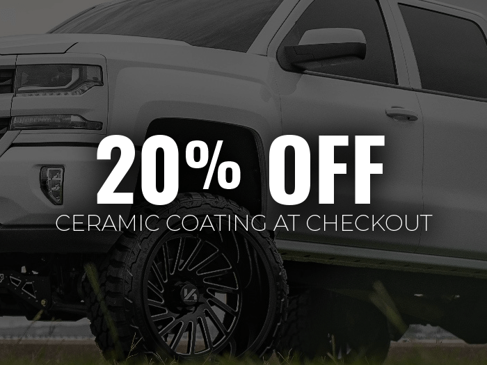 20% OFF Ceramic Coating