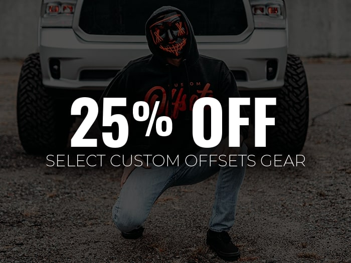 25% Off Custom Offsets Gear