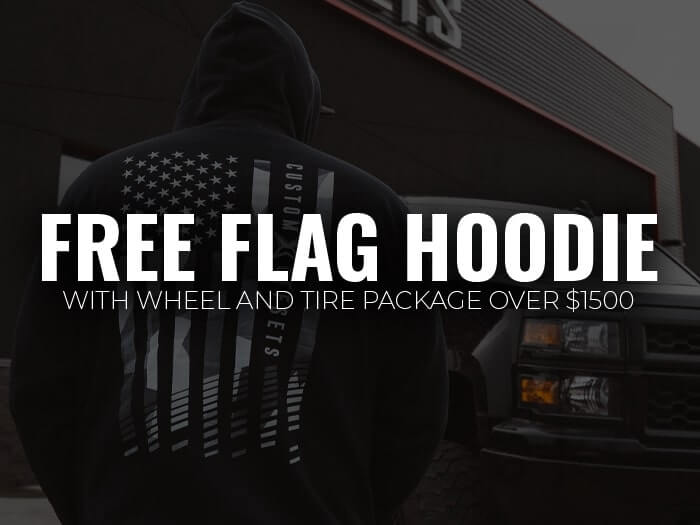 Free Hoodie with W/T Package over $1500