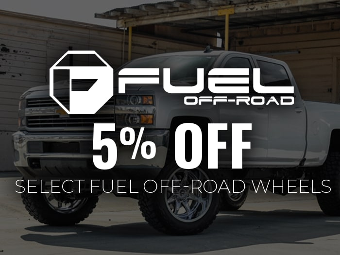 5% Off Fuel Wheels