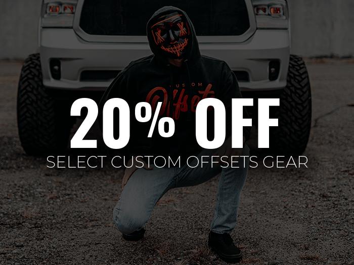 20% Off Custom Offsets Gear