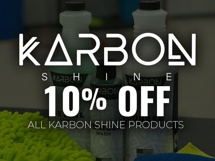 10% Off Karbon Detailing Products