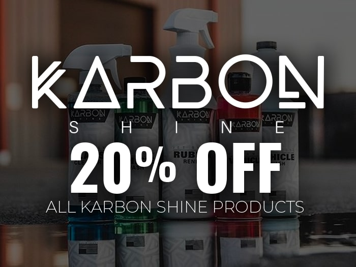 20% Off Karbon Detailing Products