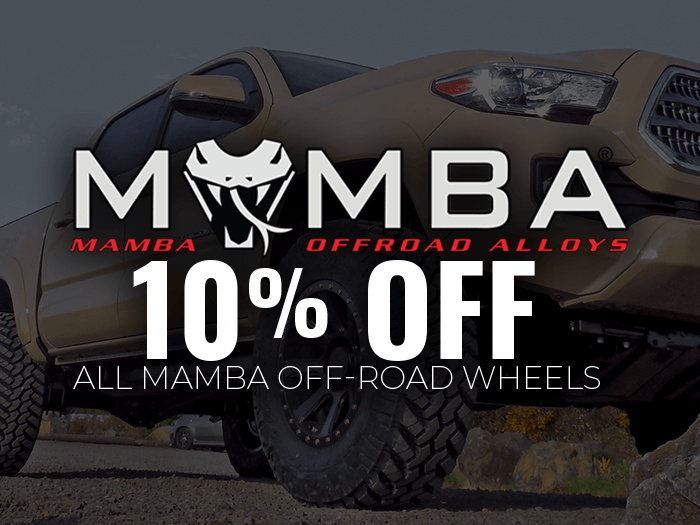 10% Off Mamba Off-Road Wheels