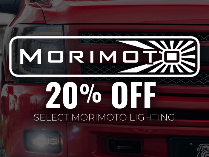 Up to 20% OFF Morimoto Lighting