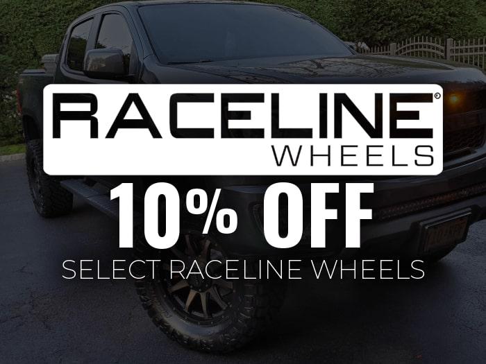 10% off Raceline Wheels