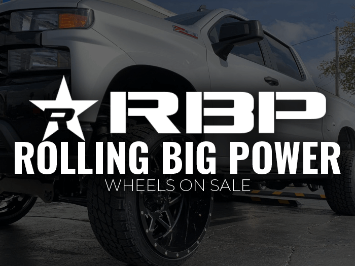 Select RBP Wheels on sale