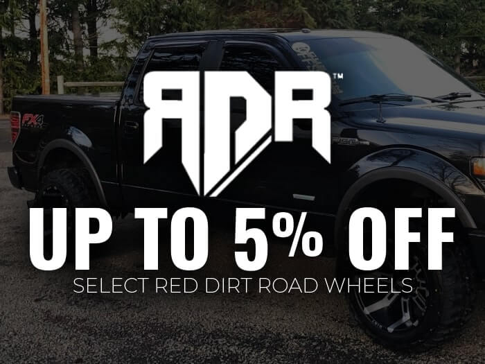 5% Off Red Dirt Road Wheels