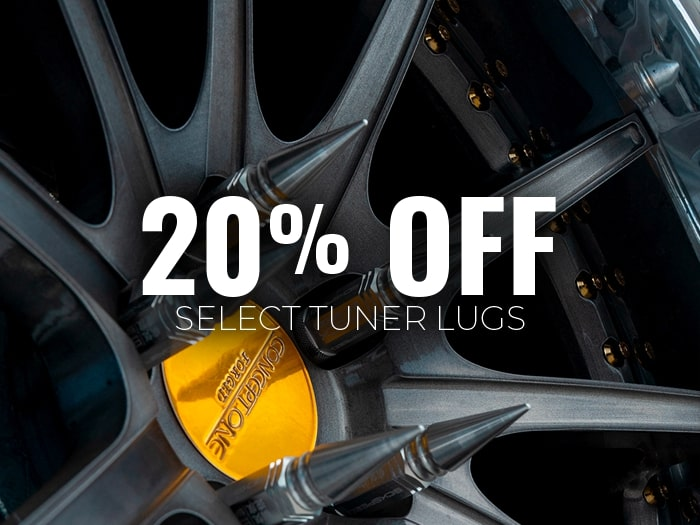 Up to 20% Off Spiked Lug Nuts
