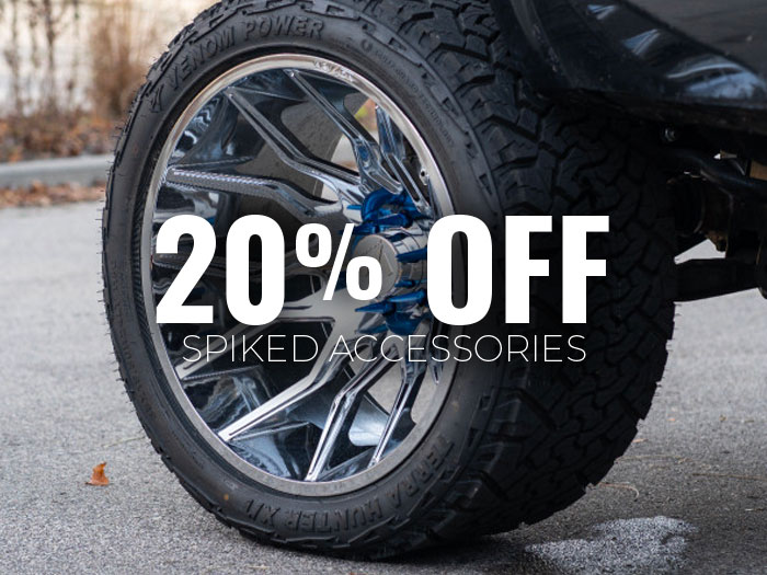 20% Off Spiked Accessories