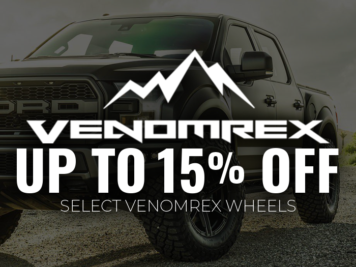 15% OFF VenomRex Wheels