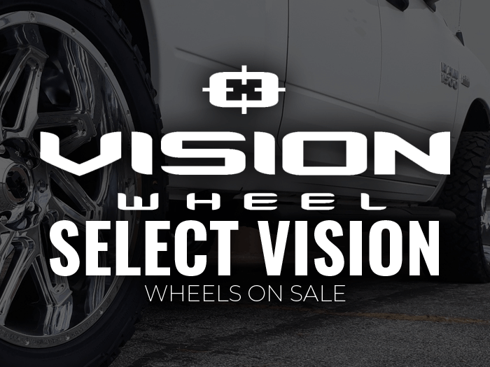 Select Vision wheels on sale