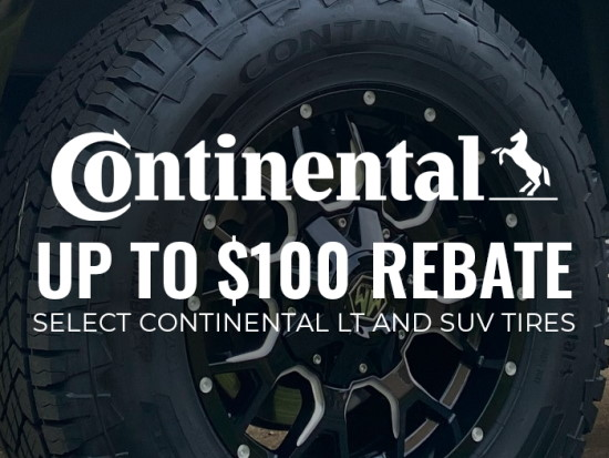 Continental LT and SUV Tires