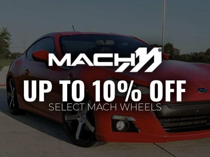 Up to 10% Off Mach Wheels