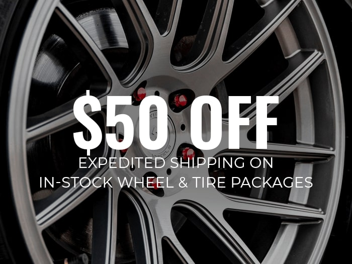 $50 Off Expedited Shipping