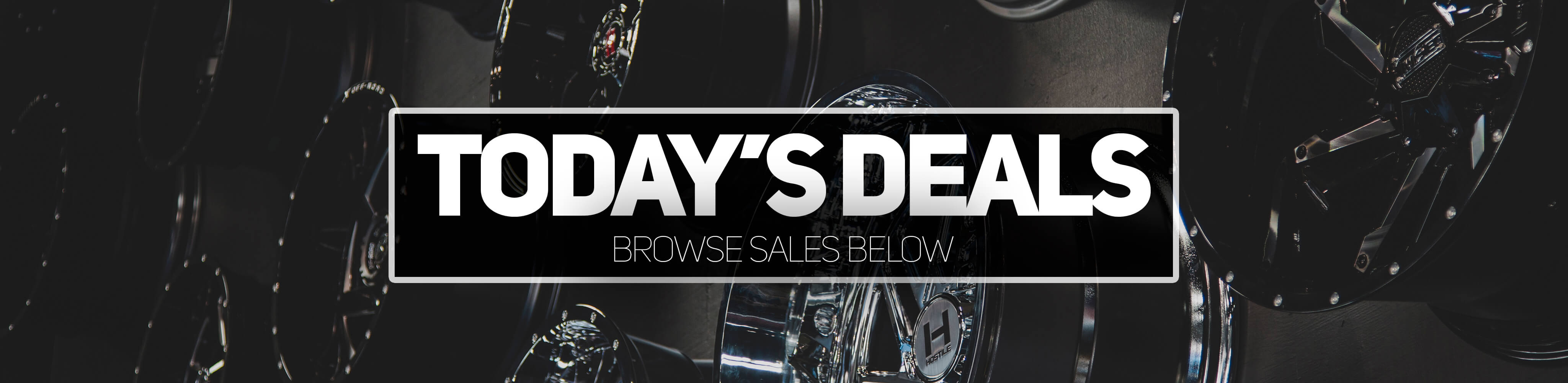 Today's deals, browse our sales below