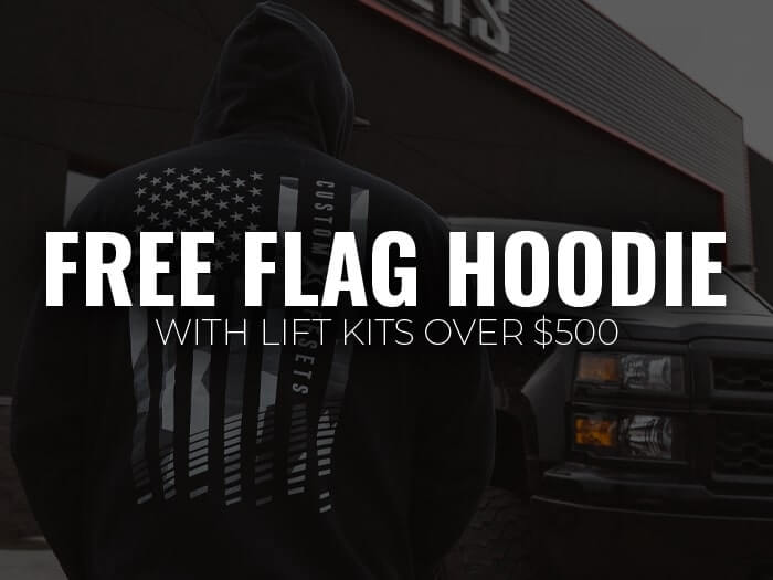 Free Hoodie with Suspension purchase over $500