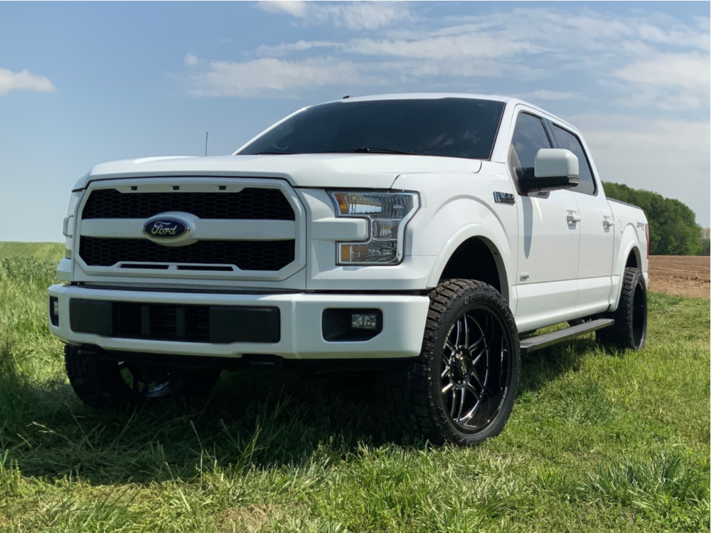 Ford F150 Toyo Open Coutnry AT II Leveling Kit
