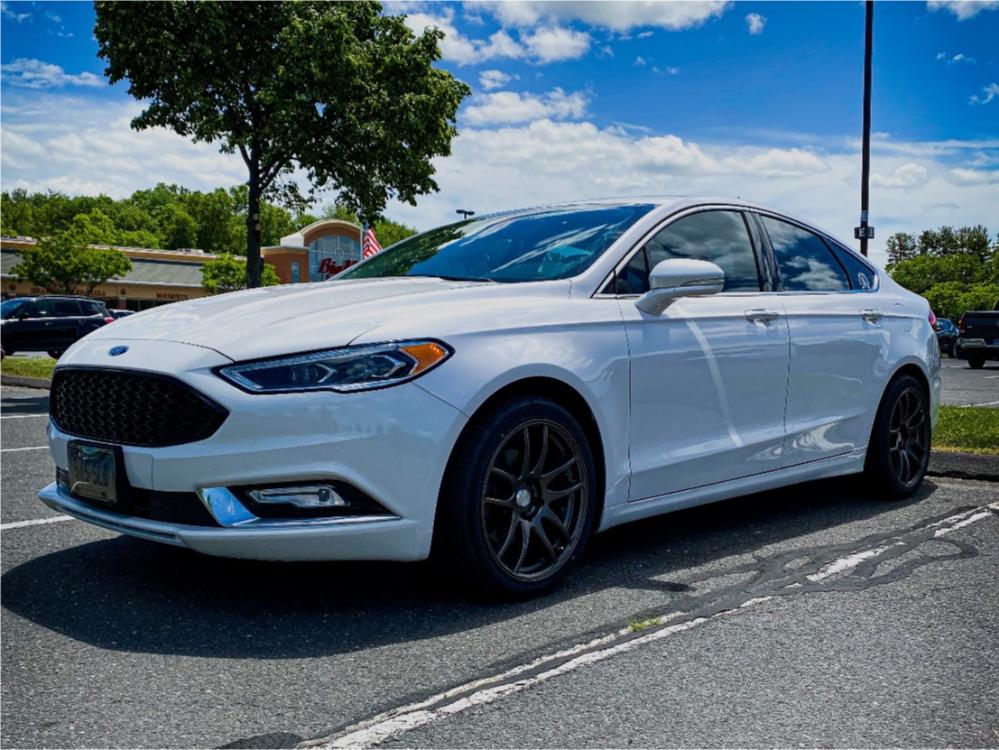 Ford Fusion Custom Wheels