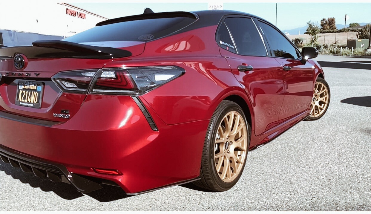 Lowered Camry