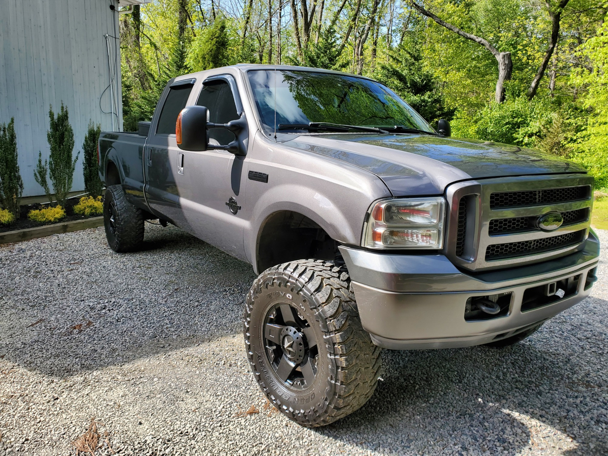 Lifted F250 with XD Wheels