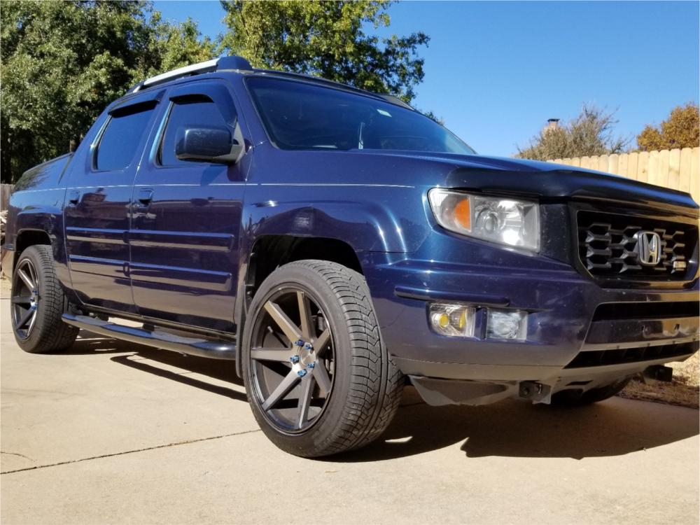 Honda Ridgeline Custom Wheels