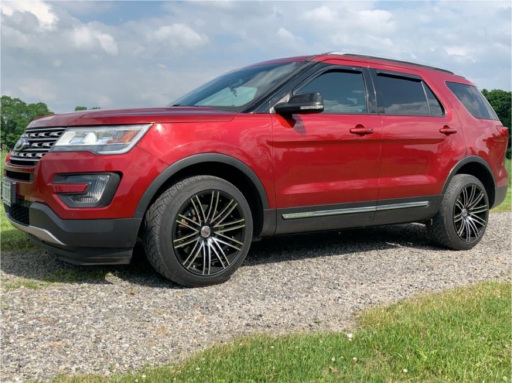 Ford Explorer Aftermarket Wheels