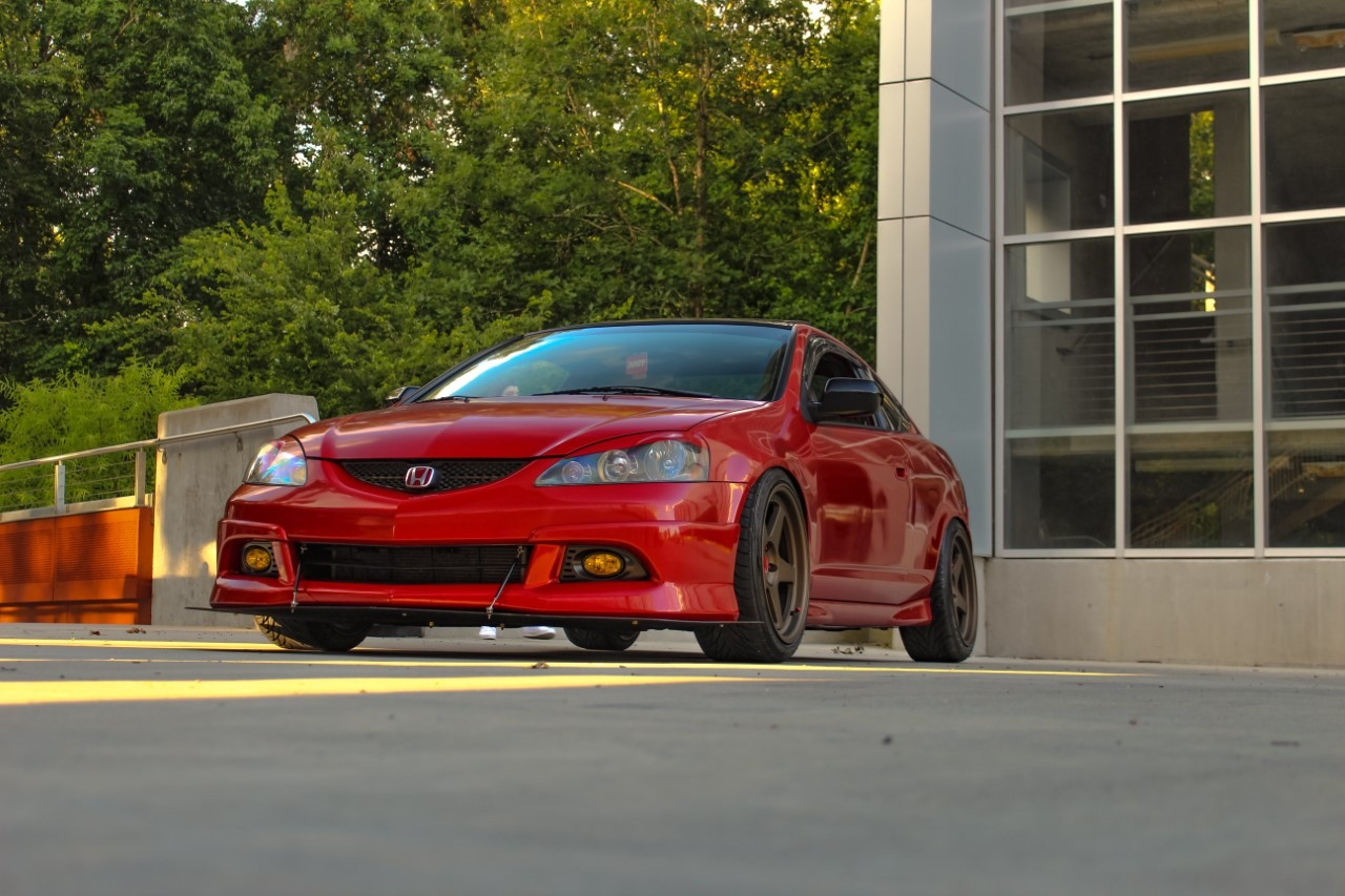 Acura RSX with Federal SS595