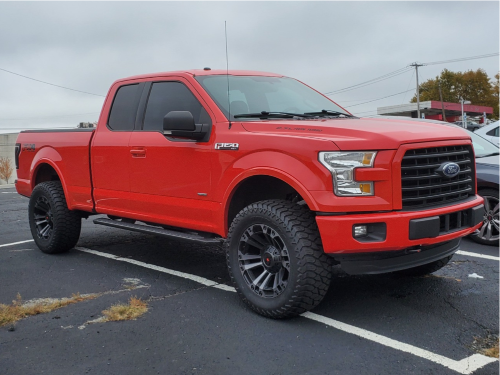 Lifted F150 with AMP TIres