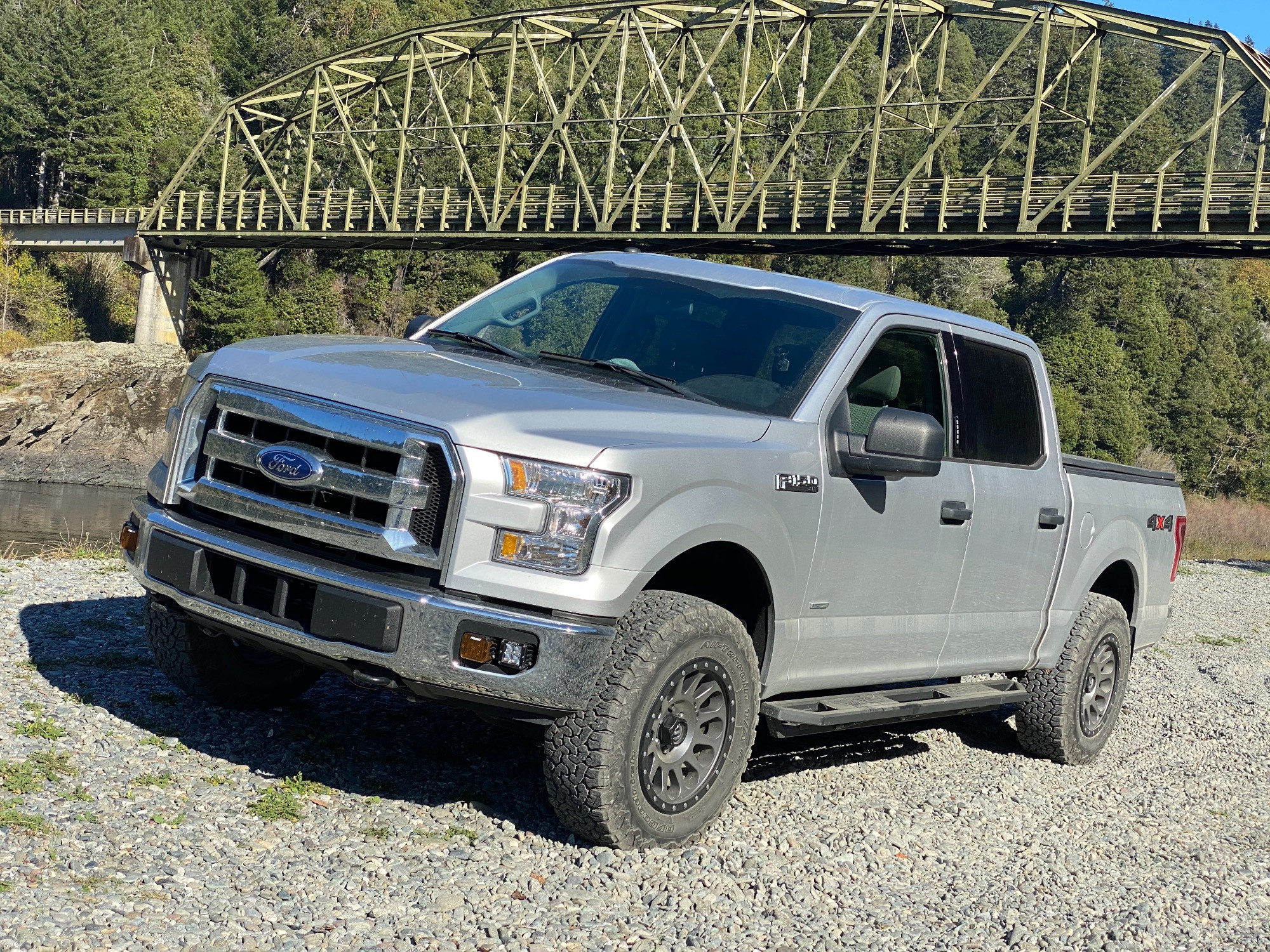 F150 with Fuel Wheels