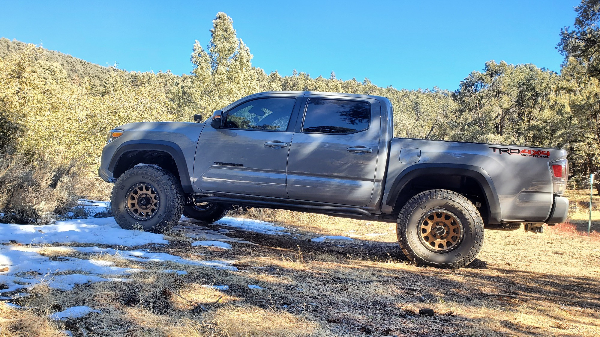 Lifted Tacoma with Method Wheels