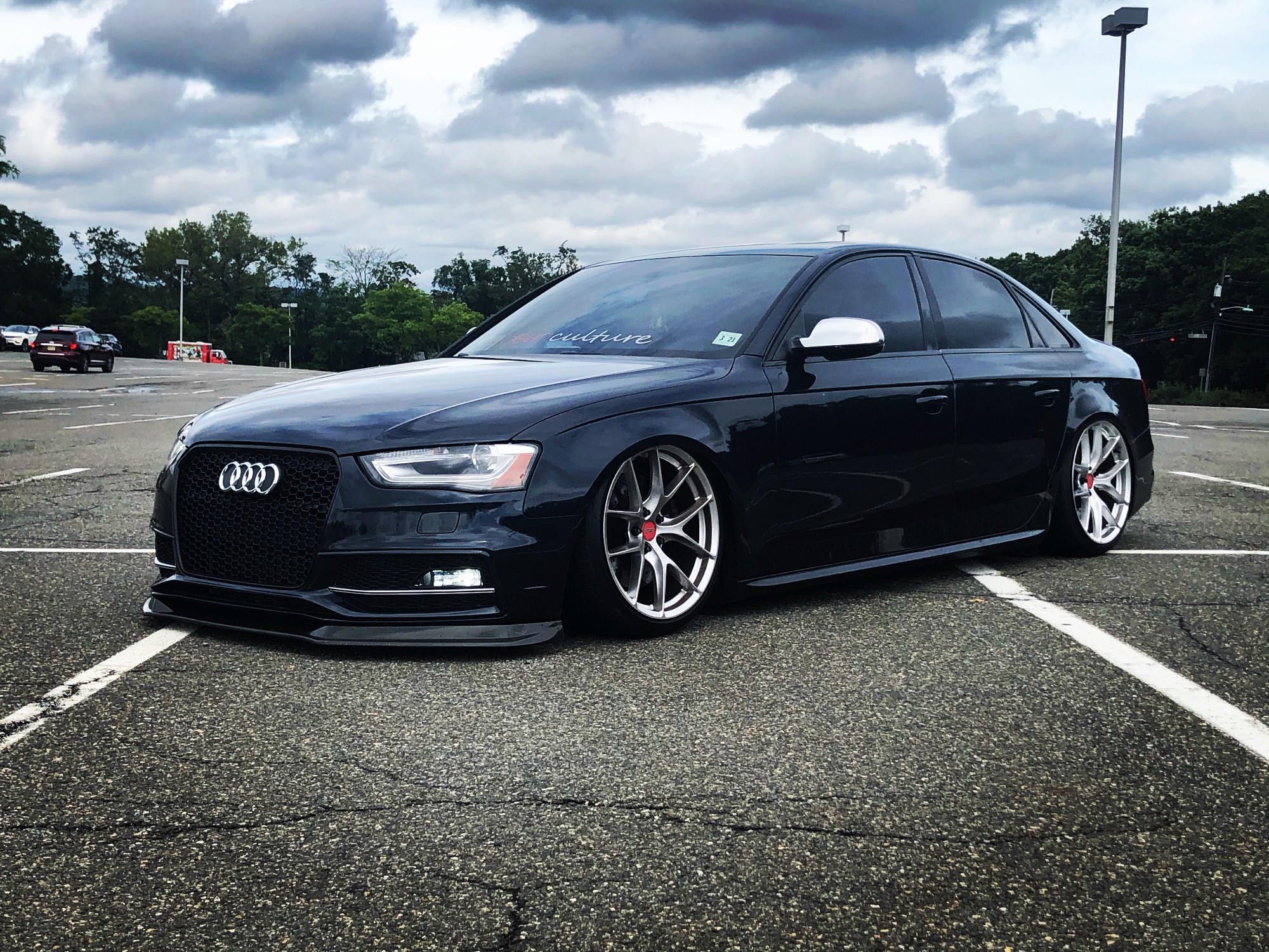B8 Audi S4 Bagged