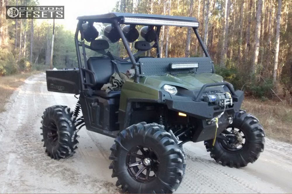 Wheel Offset 2014 Polaris Ranger Xp 800 Outside Flares