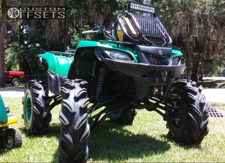 2006 Suzuki Kingquad 700 Custom Lifted 9in