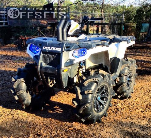 2014 Polaris Sportsman 570 Black Path Lift 2in