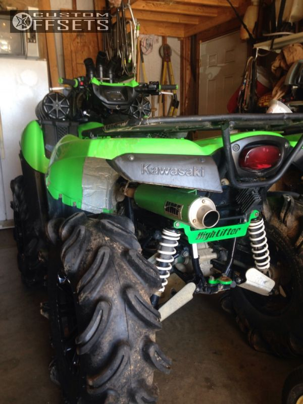 Lifted Kawasaki Brute Force  For Sale
