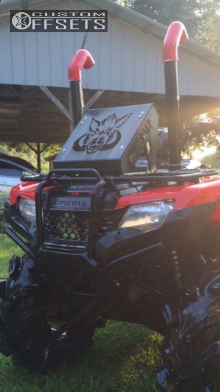 Wheel Offset 2014 Honda Rancher 420 Flush Lift 2 Custom Rims