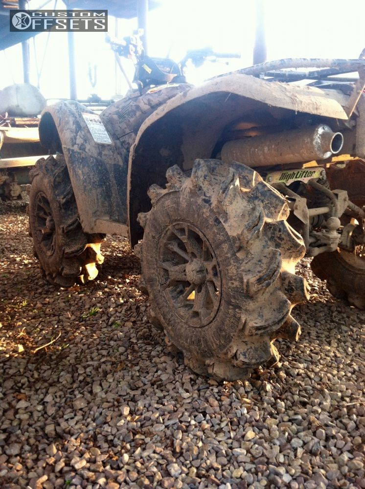 Honda 420 Rancher >> Wheel Offset 2013 Honda Rancher 420 Inside Flares Lift 2 ...