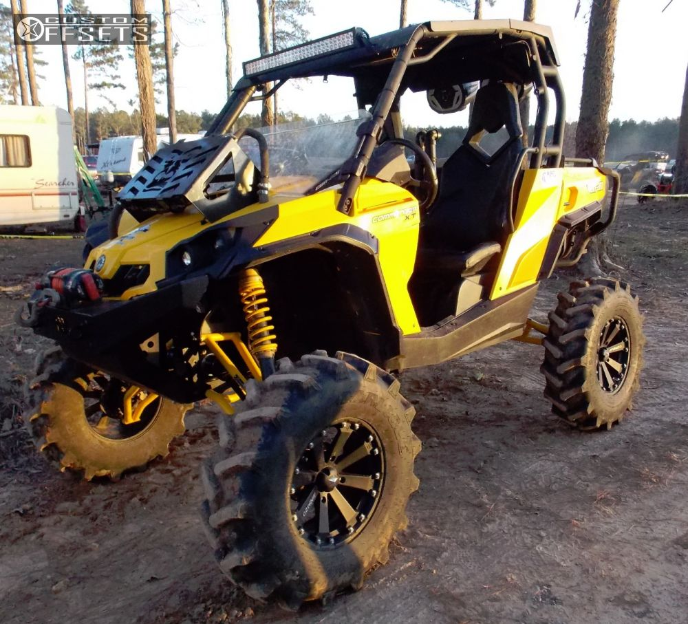 ... Wiring Diagrams Source · Wheel Offset 2011 Can Am Commander 1000  Outside Flares Lift 6 Custom Rims